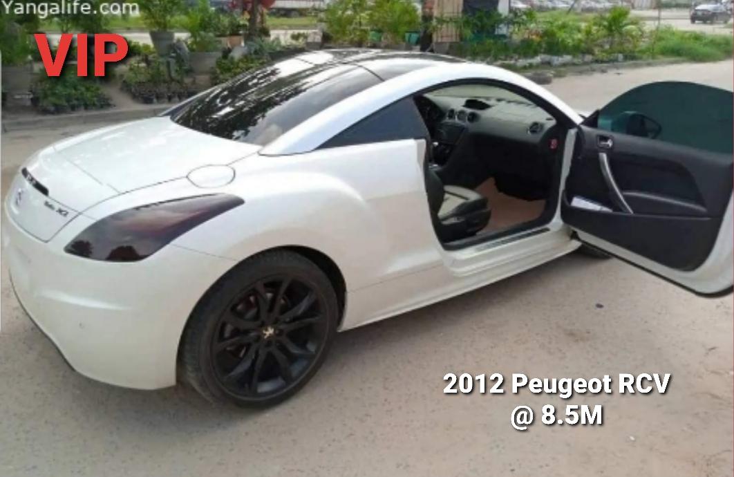2012 Peugeot RCZ Coupe @ 8.5M